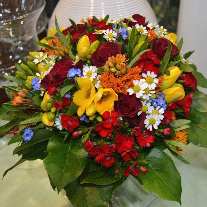 Blumenstrauß: Danke