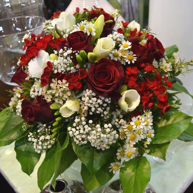 Blumenstrauß: Von Herzen